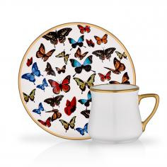 TURKISH COFFEE ST 6 PIECE BUTTERFLY